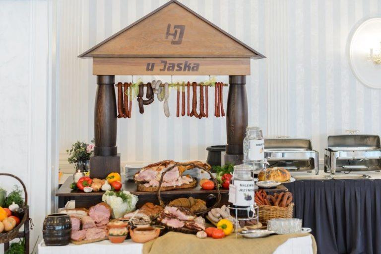 Wiejski stół weselny - Jasek Premium Wrocław
